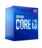 Processador Intel Core i3-10100, Cache 6MB, 3.6GHz (4.3GHz Max Turbo)