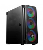 Gabinete Gamer Evolut Mesh RGB Mid Tower C/Cooler