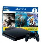 Console Playstation 4 Slim 1Tb Mega Pack